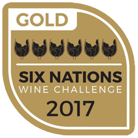 Six Nations Wine Challenge Gold 2017