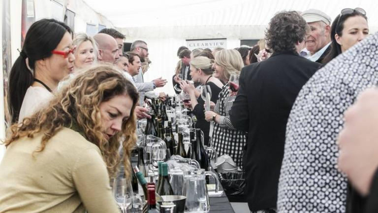 sacred hill auction at the Hawkes Bay Wine Auction