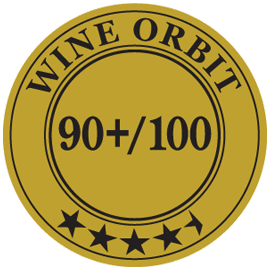 Wine Orbit Medal 90